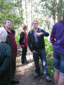 Spring walk in DKH Wood with Dave Clark