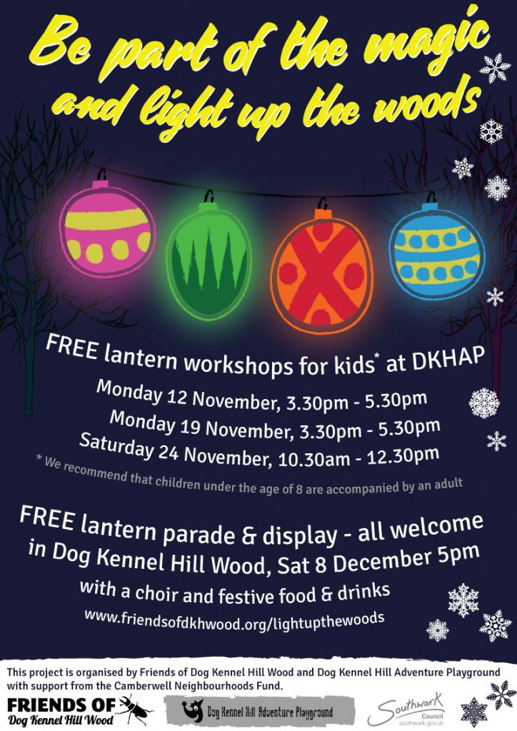 Light Up The Woods – lantern procession