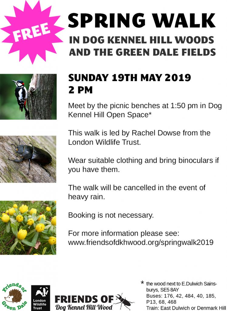 Spring Walk 2019 – 19th May 2pm