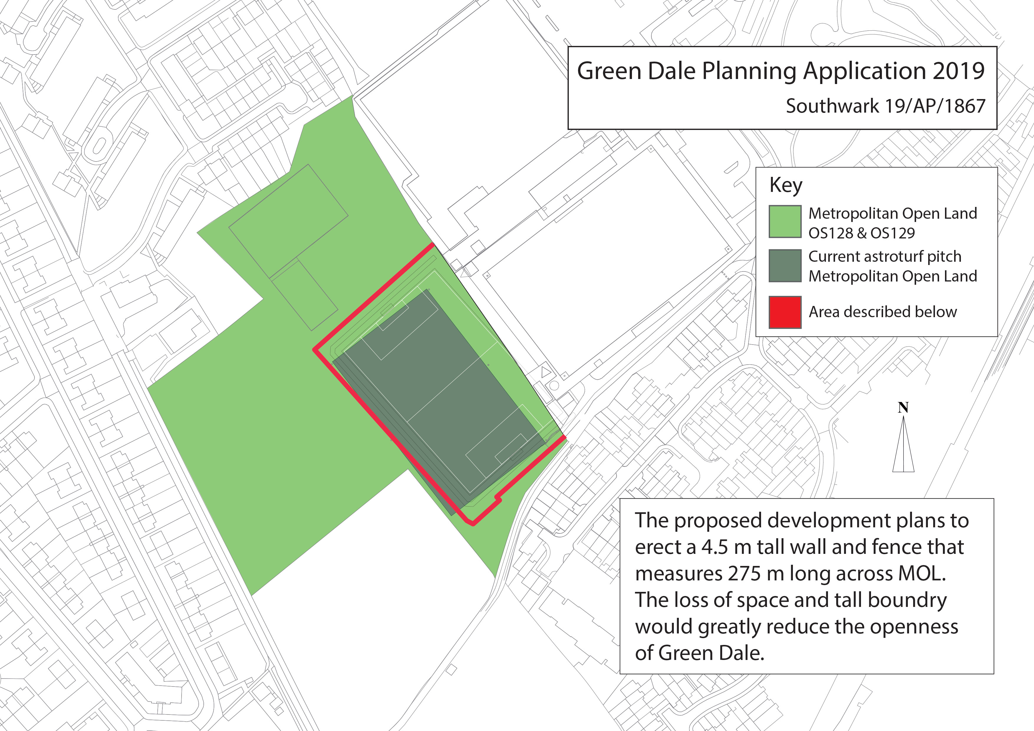 Friends of Dog Kennel Hill Wood - Respond to planning